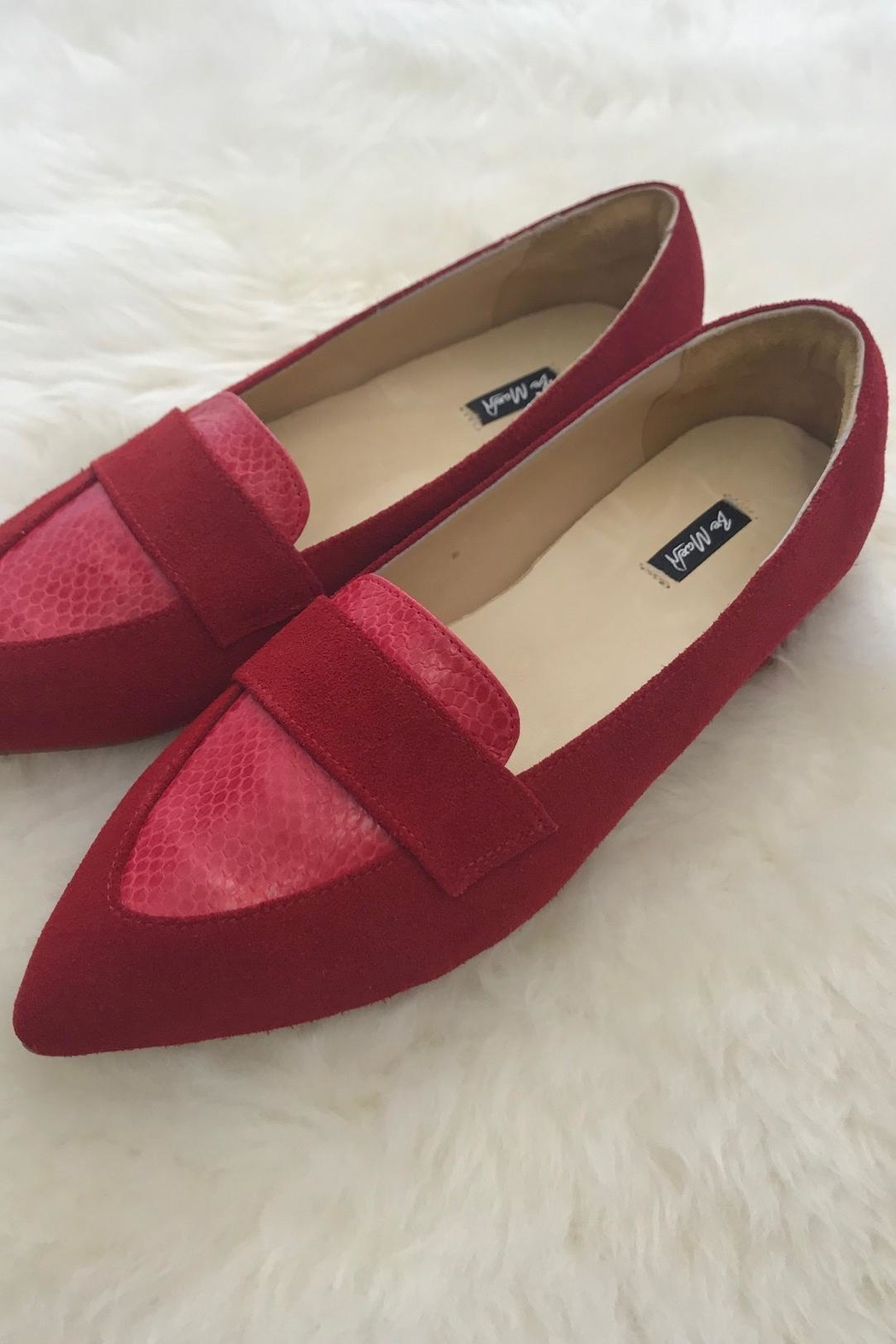 Be Mae Shoes Alisha Leather Loafer - Front Cropped Image