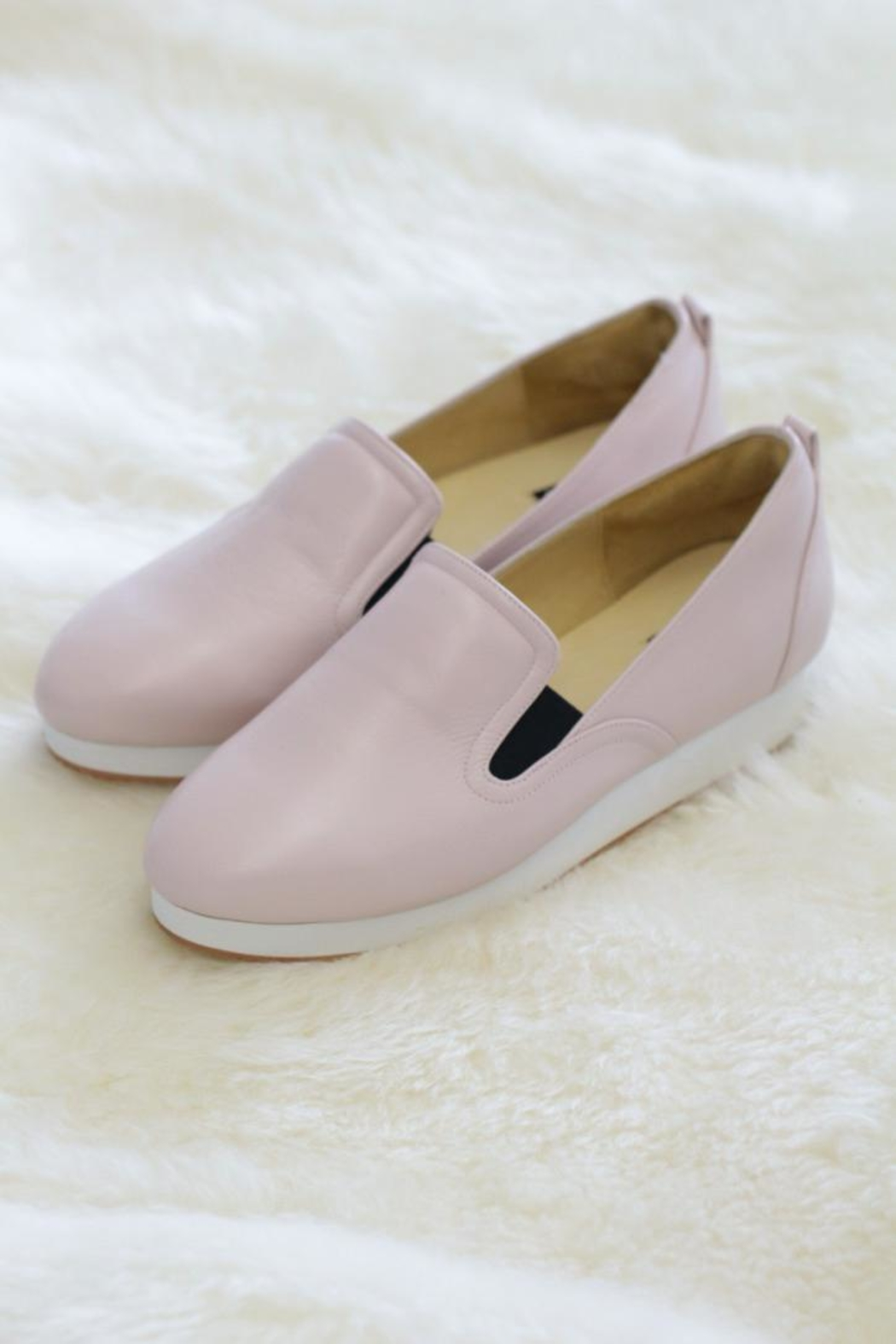 Be Mae Shoes Allanah Handmade Loafer - Front Cropped Image