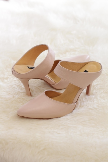 Be Mae Shoes Ann Leather Heels - Main Image
