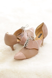 Be Mae Shoes Anna Leather Heels - Product Mini Image