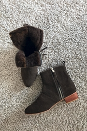 Be Mae Shoes Becx Lamb Fur Booties - Front full body