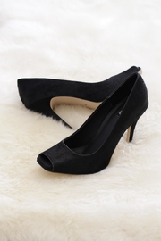 Be Mae Shoes Cowhide Peeptoe Heels - Product Mini Image