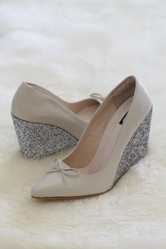 Shoptiques Product: Ella Bridal Wedge
