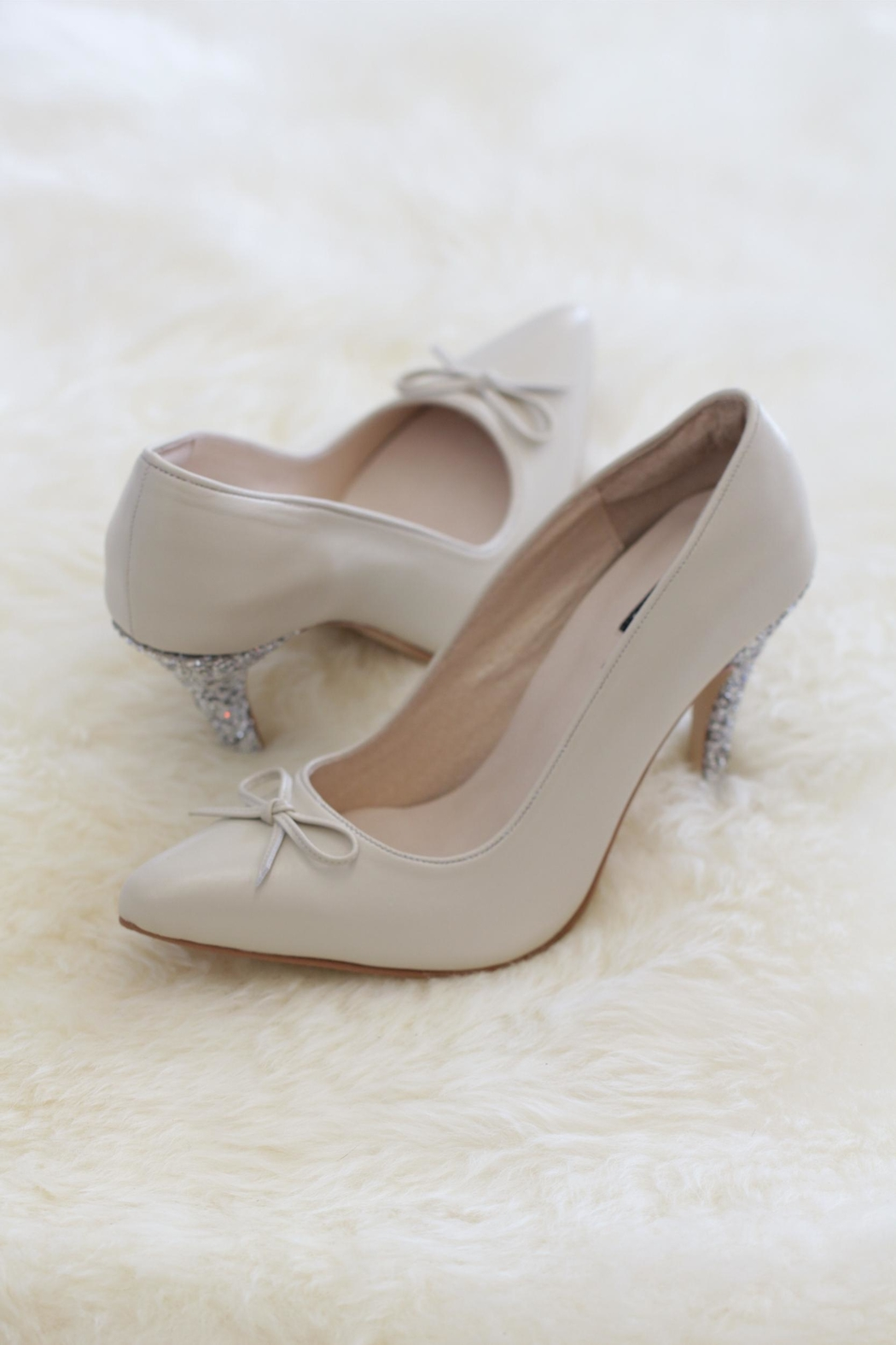 Be Mae Shoes Evie Bridal Heels - Front Cropped Image