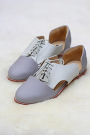 Be Mae Shoes Janine Leather Flats - Front cropped