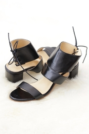 Be Mae Shoes Kate Leather Heels - Front cropped