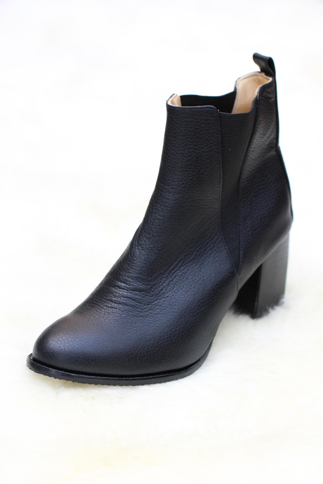 Marry Leather Booties