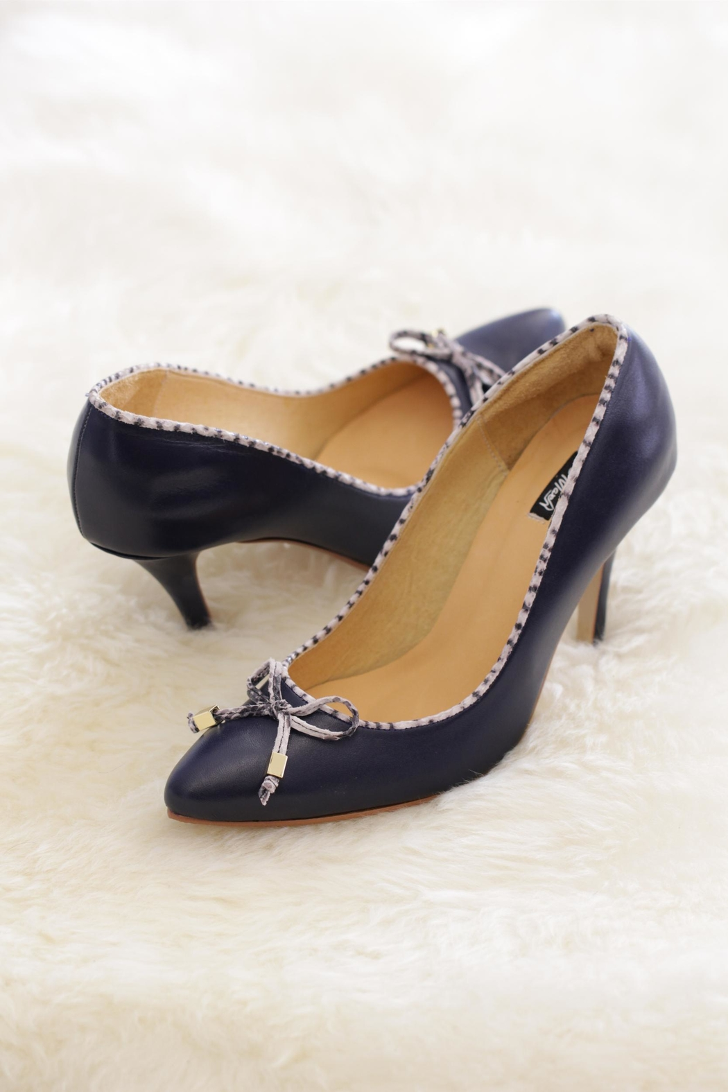Be Mae Shoes Marry Me Heels - Front Cropped Image