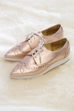 Be Mae Shoes Michele Leather Brogues - Alternate List Image