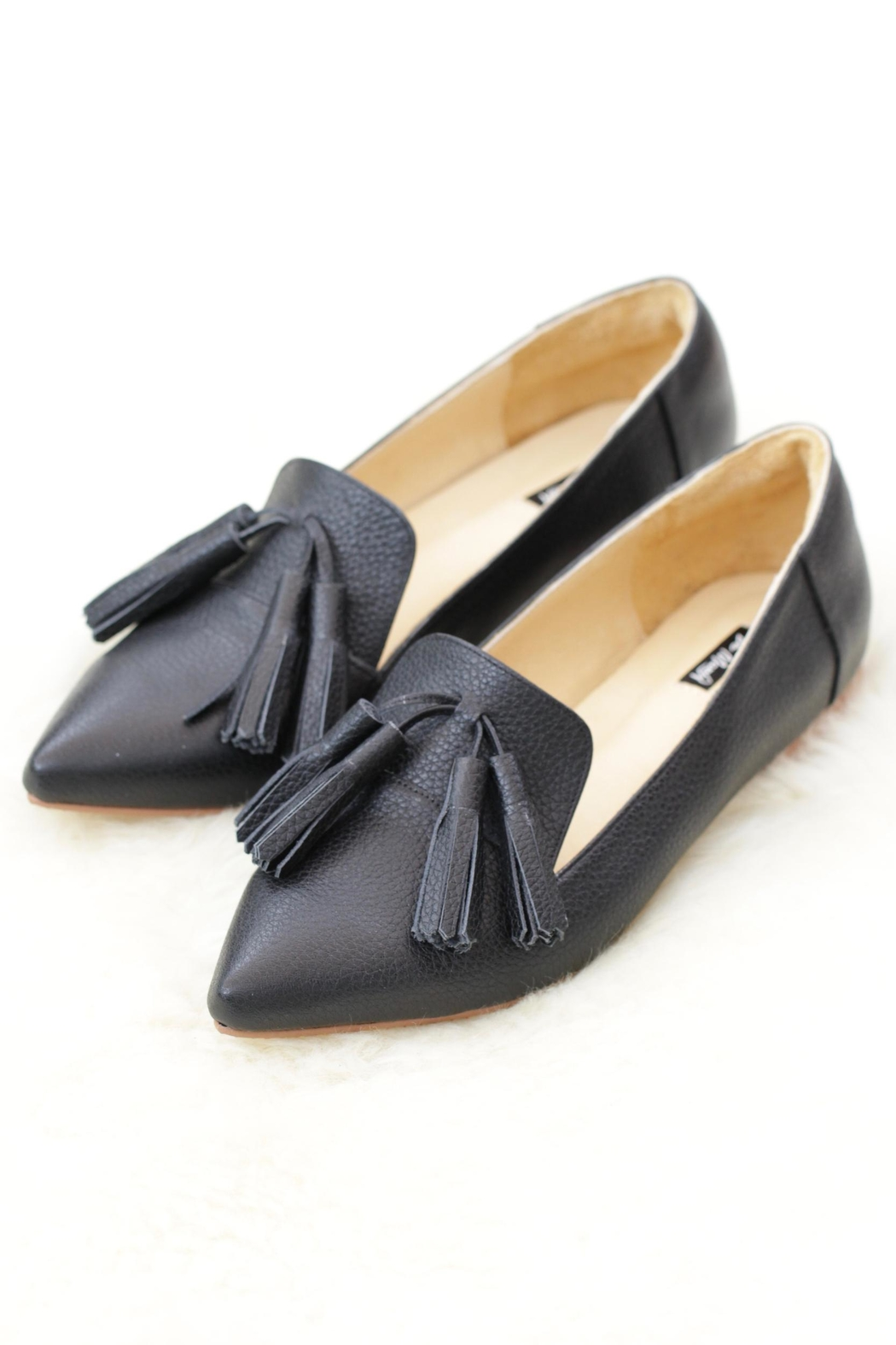 Be Mae Shoes Mini Leather Loafer - Front Cropped Image