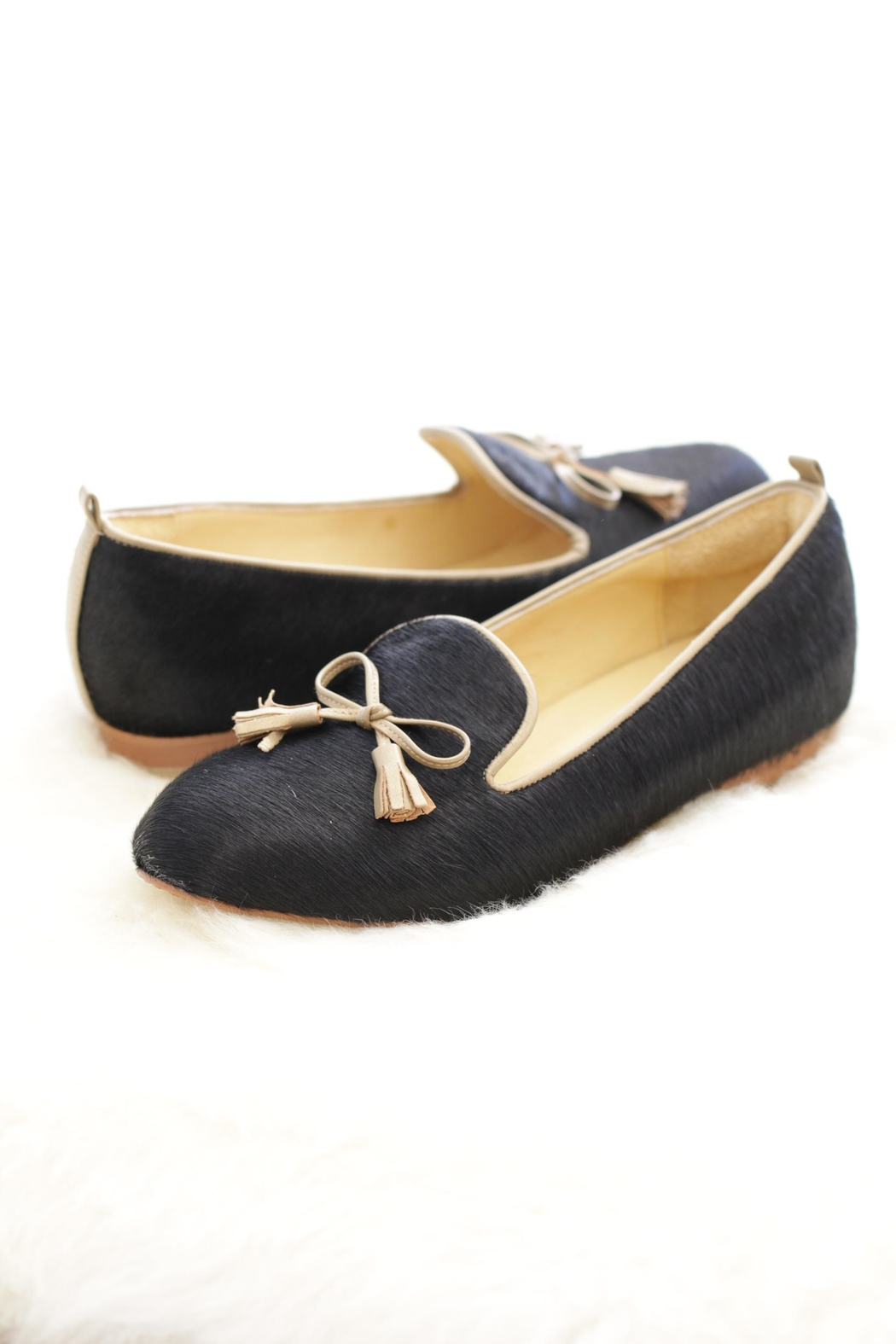 Be Mae Shoes Neena Leather Loafer - Front Cropped Image