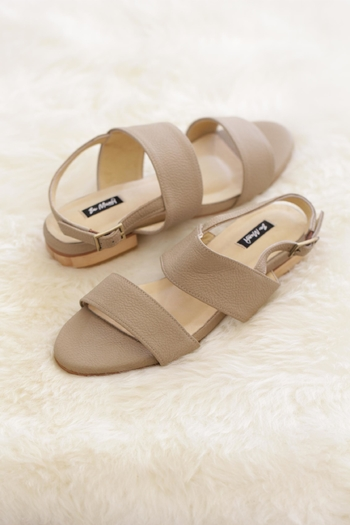 Be Mae Shoes Nikki Leather Sandals - Main Image