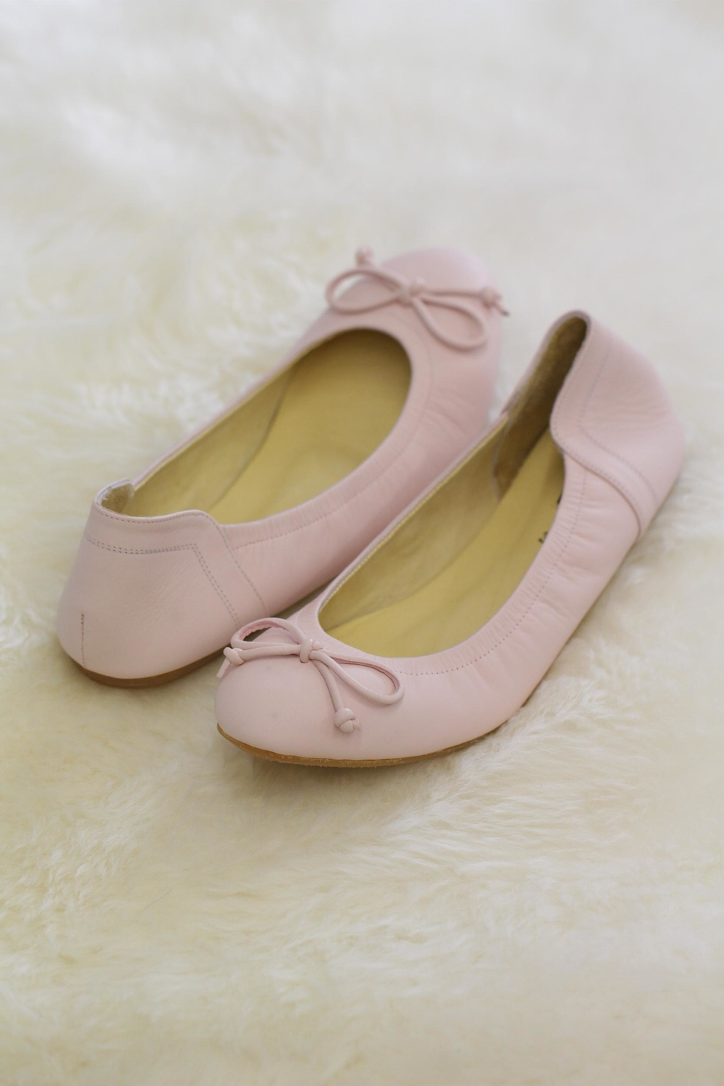 Be Mae Shoes Odette Leather Ballet - Main Image