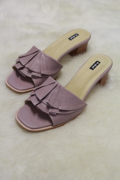 Be Mae Shoes Ruffle Leather Sandals - Alternate List Image