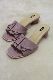 Be Mae Shoes Ruffle Leather Sandals - Product Mini Image