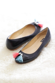 Be Mae Shoes Sophie Leather Flats - Front cropped