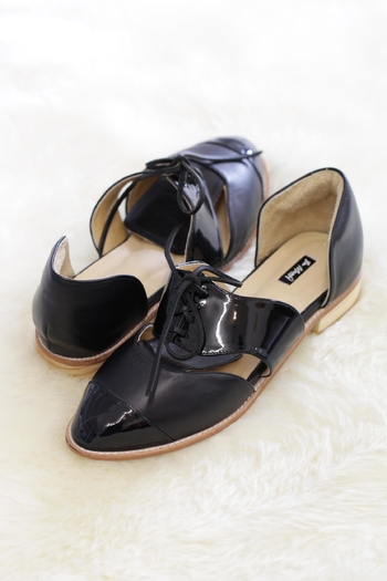 Be Mae Shoes Sparrow Leather Loafer - Main Image