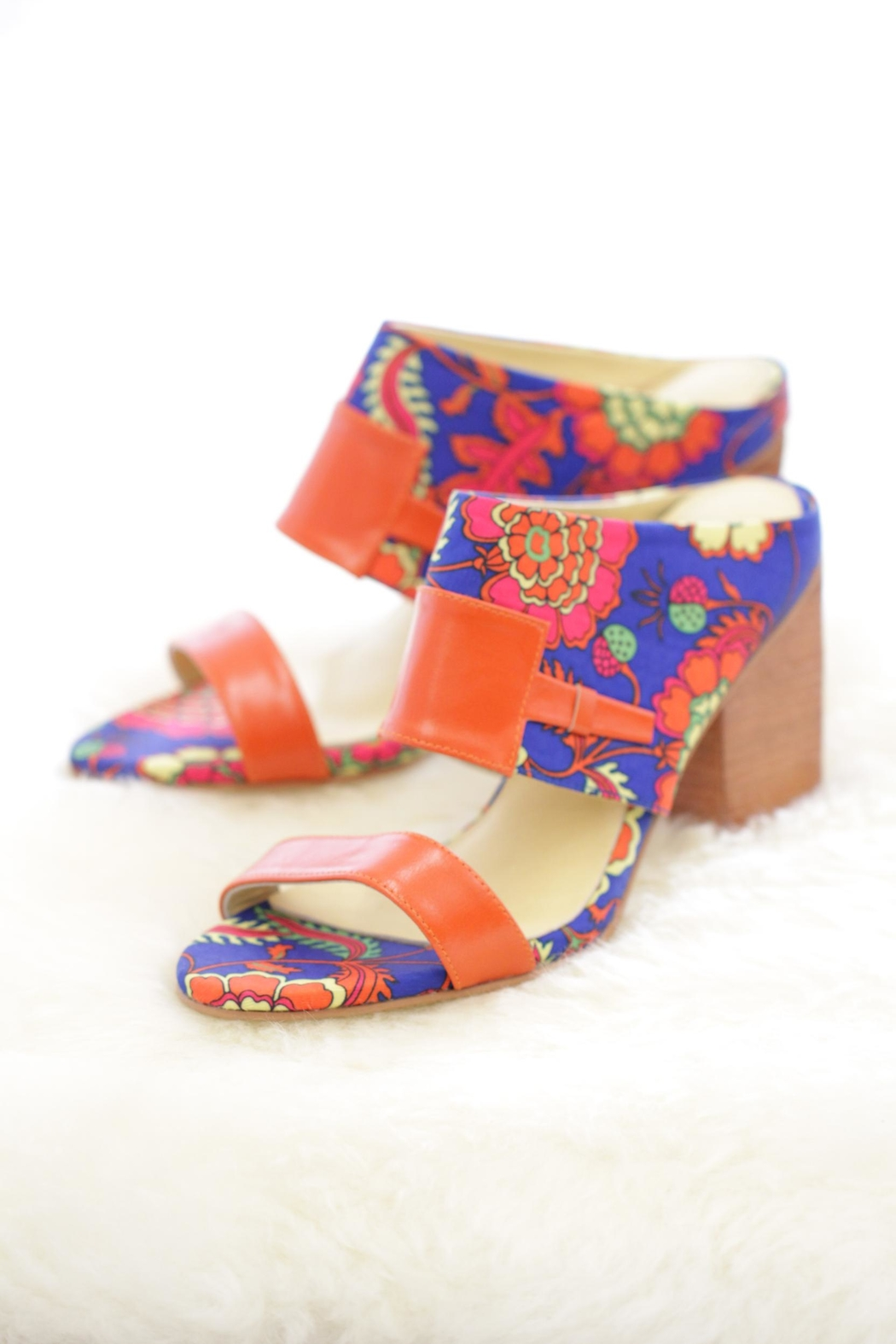 Be Mae Shoes Vasana Block Heels - Main Image