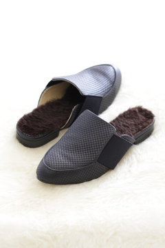Shoptiques Product: Zaan Fur Sandals