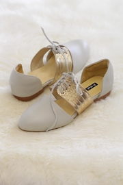 Be Mae Shoes Zoe Leather Flats - Front cropped
