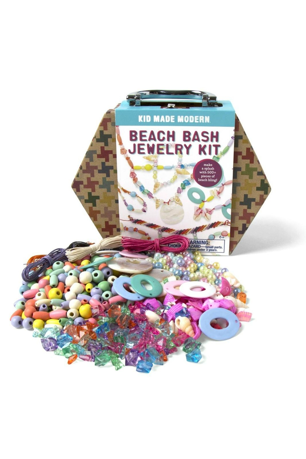 Kid Made Modern Beach-Bash Jewelry Kit - Front Full Image
