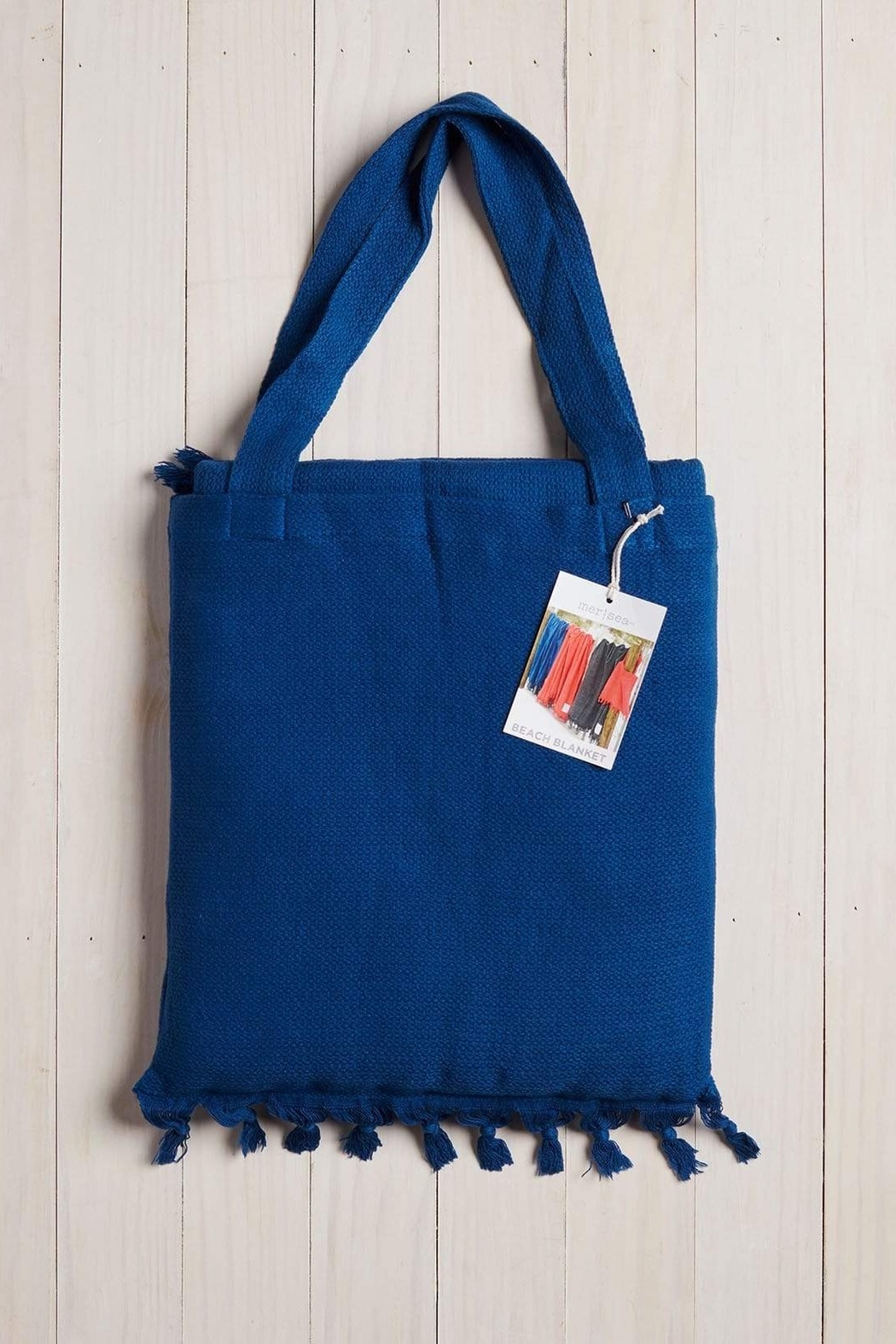 Mer Sea & Co Beach Blanket With Tote Bag - Side Cropped Image