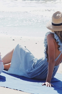 Mer Sea & Co Beach Blanket With Tote Bag - Product List Image