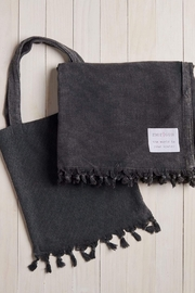 Mer Sea & Co Beach Blanket With Tote Bag - Front full body