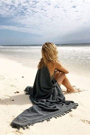 Mer Sea & Co Beach Blanket With Tote Bag - Front cropped