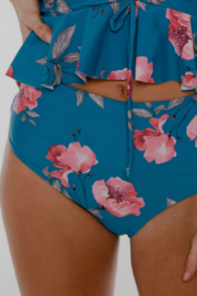 Coral Reef Swimwear  Among the Waves Reversible Curvy Bottoms - Front cropped