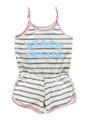 TINY WHALES Beach Brigade Romper - Front cropped
