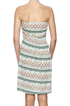 Beach by Exist Printed Strapless Dress - Alternate List Image