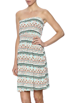 Beach by Exist Printed Strapless Dress - Product List Image