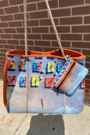 Ahdorned Beach Chair Tote - Product Mini Image