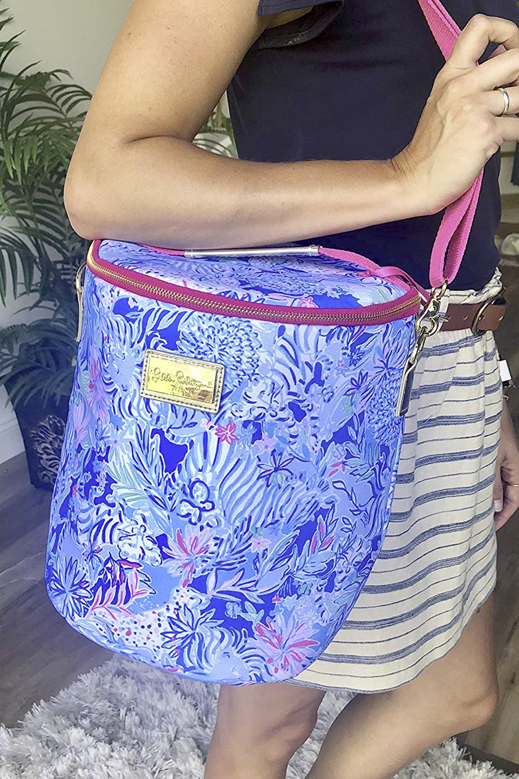 Lilly Pulitzer Beach Cooler - Back Cropped Image
