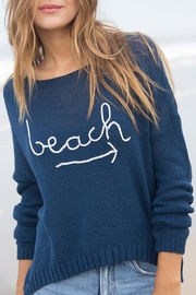 Wooden Ships Beach Crewneck Sweater - Product Mini Image