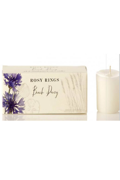 Rosy Rings Beach Daisy Candle Set - Alternate List Image