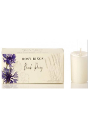 Rosy Rings Beach Daisy Candle Set - Product Mini Image