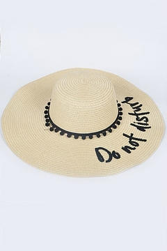 H & D Beach Hat - Alternate List Image