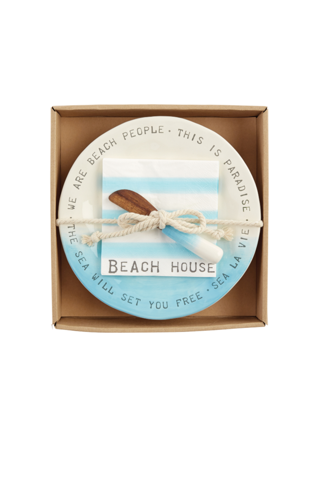 Mud Pie Beach House Cheese Set - Front Cropped Image