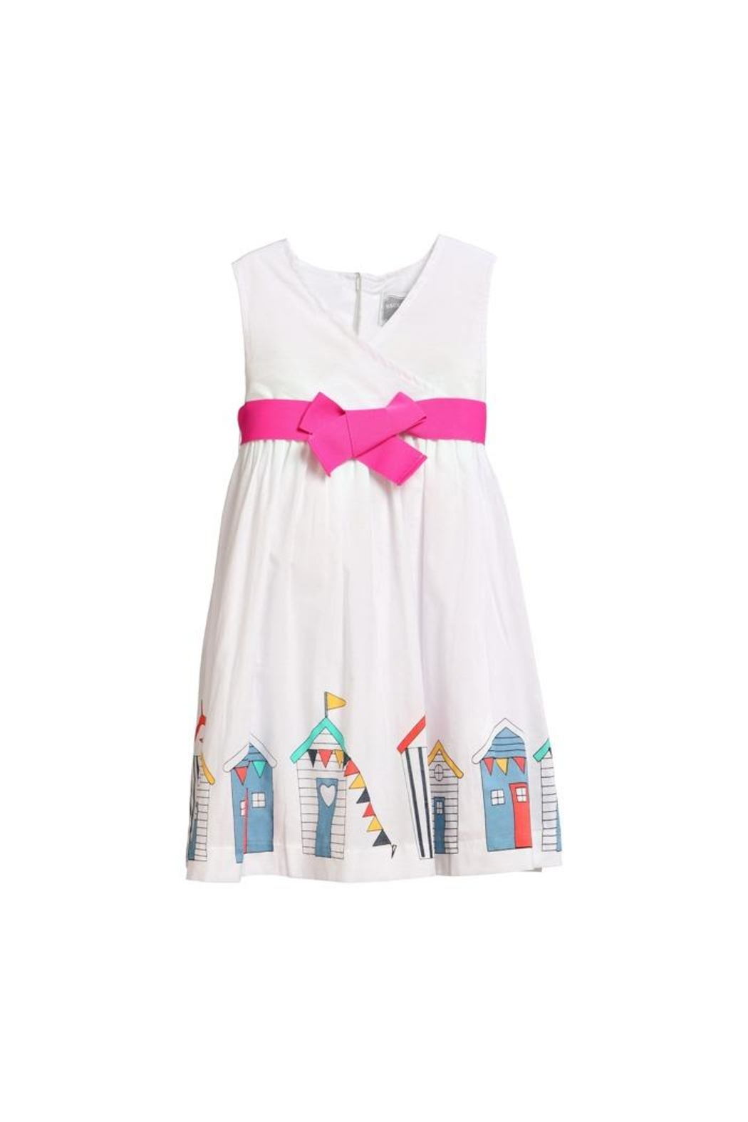 Rockin' Baby Beach Hut Dress - Front Cropped Image