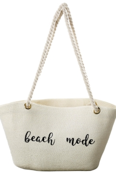 Tickled Pink Beach Mode Tote - Alternate List Image