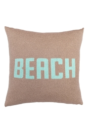 Wooden Ships beach pillow - Product Mini Image