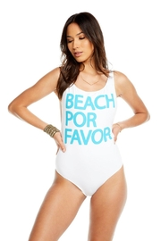 Chaser Beach Please One-Piece - Front full body