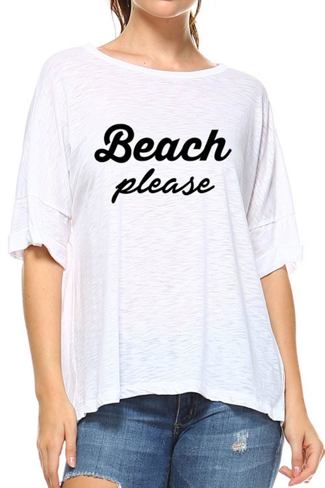 Rock N' Karma Beach Please Tee - Main Image