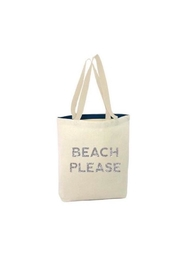 Slant Collections Beach Please Tote - Product Mini Image