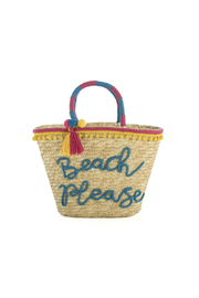 The Birds Nest BEACH PLEASE TOTE - Product Mini Image