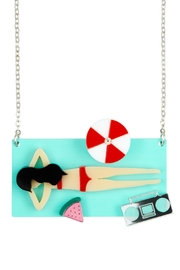 Little Moose Beach Sunbathing Necklace - Product Mini Image