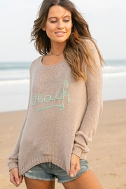 Wooden Ships Beach Sweater - Product Mini Image