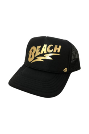 Mother Trucker Beach Trucker Hat - Product Mini Image